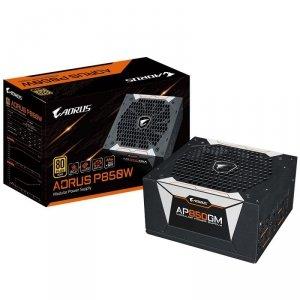 Gigabyte Zasilacz P850GM 850W PFC 120mm Hydraulic fan ATX