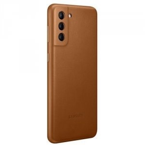 Samsung Etui Leather Cover Brown do S21+