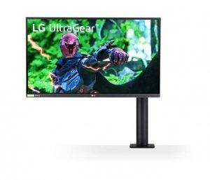 LG Electronics Monitor 27GN880-B 27 cali UltraGear Nano IPS 1ms 144Hz ERGO