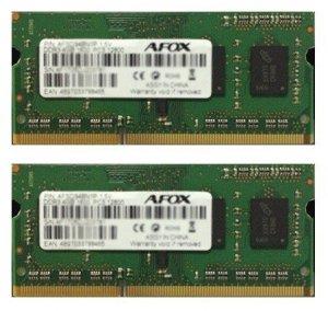 AFOX Pamięć SO-DIMM DDR3 2x8GB 1600Mhz Micron Chip LV 1,35V