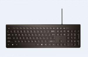 ACME Europe Klawiatura przewodowa multimedialna USBKS11 Silent , czarna