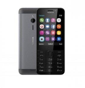 Nokia Telefon komórkowy 230 Dual Sim Srebrny