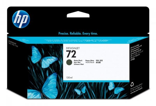 HP Inc. Tusz Nr 72 Czarny Matowy C9403A
