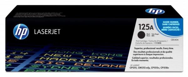 HP Inc. Toner 125A CLJ CP1215 Czarny 2.2k CB540A