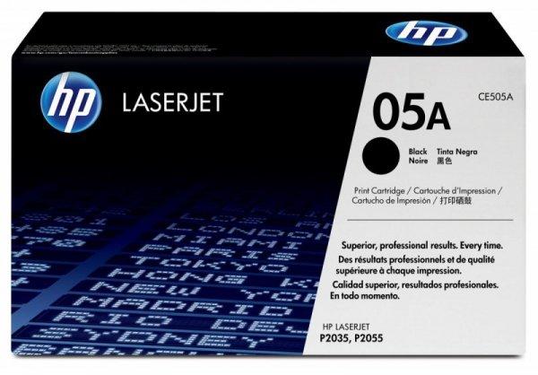 HP Inc. Toner 05A LJ P2035/P2055 05A Czarny 2.3k CE505A