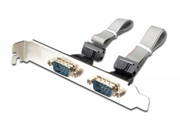 Digitus Karta rozszerzeń/Kontroler LPT/RS232 PCI Express, 1xDB25 2xDB9, Low Profile, Chipset: AX99100