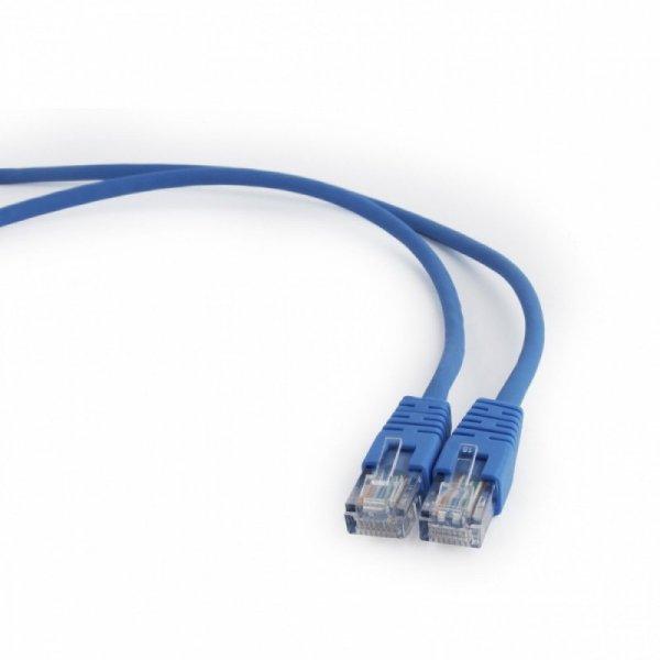 Gembird Patch cord kat.5e osłonka zalewana 5M niebieski