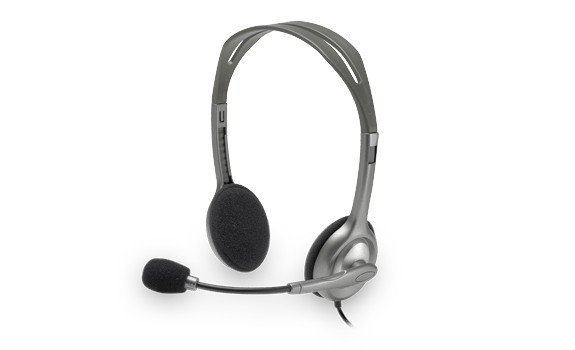 Logitech H110 Słuchawki z mikrofonem 981-000271