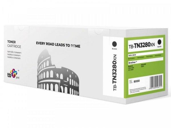 TB Print Toner do Brother TN3280X TB-TN3280XN BK 100% nowy