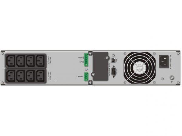 PowerWalker UPS  ON-LINE 2000VA 8X IEC OUT, USB/RS-232, LCD,     RACK 19''/TOWER, POWER FACTOR 0,9