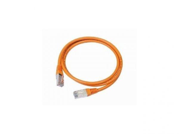 Gembird Patch cord kat.5e osłonka zalewana 0.25M pomarańczowy