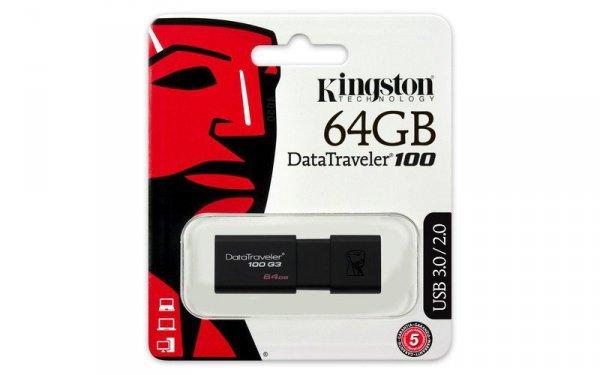 Kingston Data Traveler 100G3 64GB USB 3.0