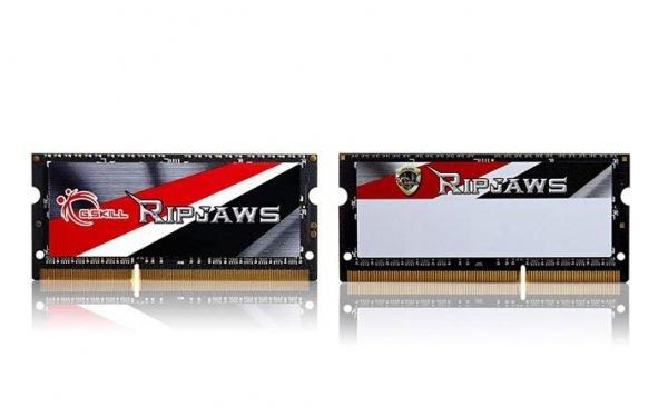 G.SKILL SODIMM Ultrabook DDR3 8GB (2x4GB) Ripjaws 1600MHz CL9 - 1.35V Low Voltage