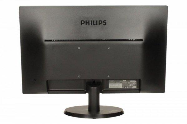 Philips Monitor 21.5 223V5LSB LED DVI Czarny