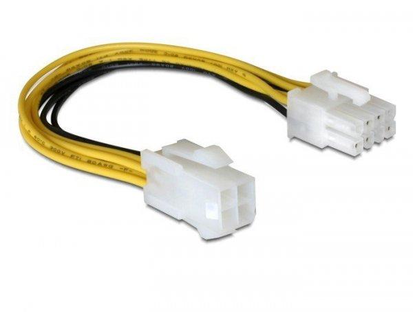 Delock Kabel zasilający 8Pin EPS->4Pin ATX/P4 wewnętrzny