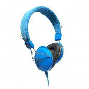 ART SŁUCHAWKI STEREO z mikrofonem AP-60B niebieskie