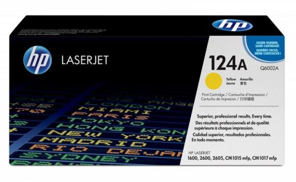 HP Inc. Toner Żółty 124A 2k Q6002A