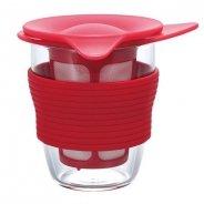 Hario - Handy Tea Maker - Czerwony 200ml