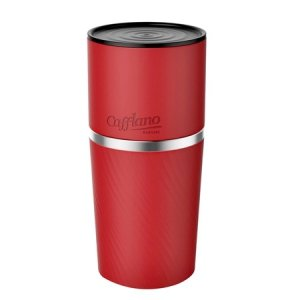 Cafflano Klassic - All in One Coffee Maker - Czerwony