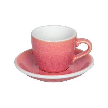 Loveramics Egg - Filiżanka i spodek Espresso 80 ml - Berry