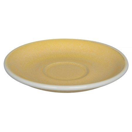 Loveramics Egg - Filiżanka i spodek Flat White 150 ml - Butter Cup