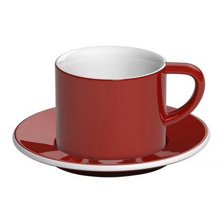 Loveramics Bond - Filiżanka i spodek Cappuccino 150 ml - Red
