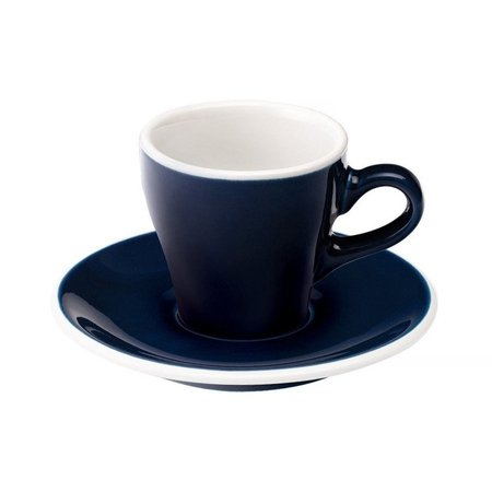 Loveramics Tulip - Filiżanka i spodek Espresso 80 ml - Denim