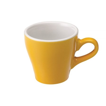 Loveramics Tulip - Filiżanka i spodek Espresso 80 ml - Yellow