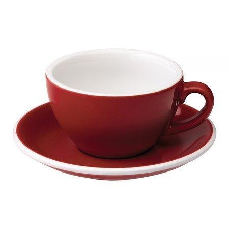 Loveramics Egg - Filiżanka i spodek Cappuccino 200 ml - Red
