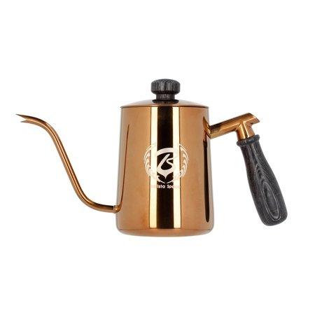 Barista Space - Różowo-złoty czajnik 600 ml