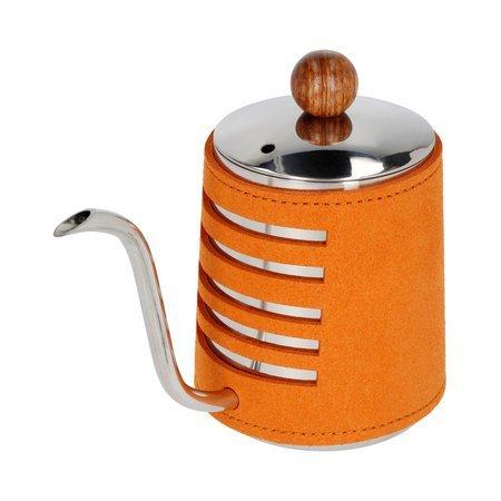 Barista Space - Czajnik w pomarańczowej osłonce 550 ml