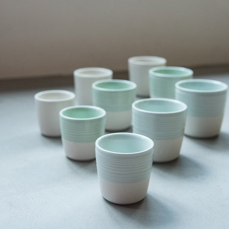 Loveramics Dale Harris - Kubek 200 ml - Cappuccino Cup - Caledon Green