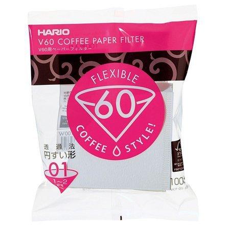 Hario filtry papierowe V60-01