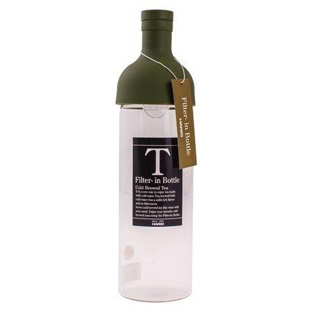 Hario butelka z filtrem Cold Brew Tea - oliwkowa zieleń 750 ml