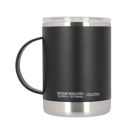 Asobu - Ultimate Coffee Mug Czarny - Kubek termiczny 360ml
