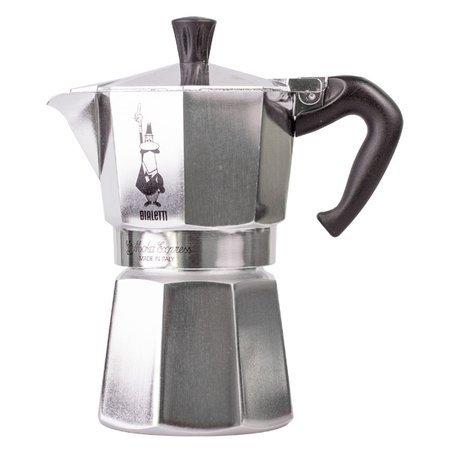 Zestaw Kawiarka 4tz + Spieniacz + 2x kawa 8 grams