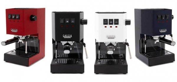 Ekspres do kawy Gaggia CLASSIC występuje w różnych kolorach