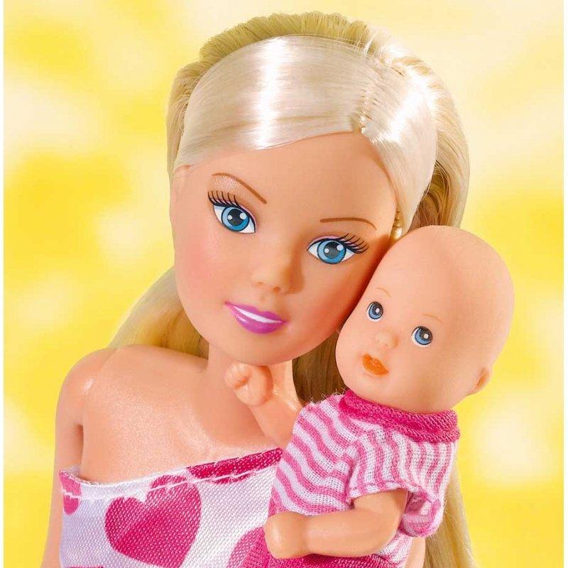 Simba Lalka Steffi Love Mama z Dzieckiem