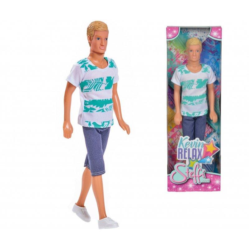 Simba Lalka Steffi Love Kevin w letnim stroju blondyn