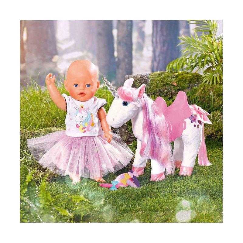 Baby Born Pet Vet Unicorn Jednorożec Dla Lalki 43 cm