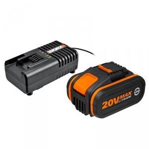 Zestaw akumulatorów z ładowarką WORX WA3604 (Li-Ion)