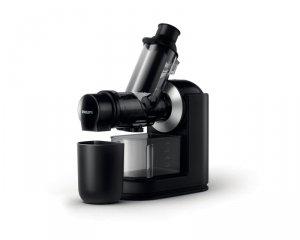 Wyciskarka wolnoobrotowa Philips HR1889/70 (150W; kolor czarny)