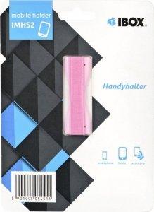 Uchwyt magnetyczny do smartfona IBOX PLASTER IMHS2 (kolor różowy)