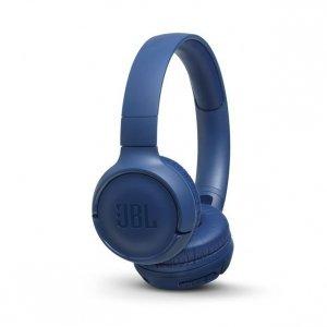 Słuchawki JBL Tune 500BT Niebieskie (nauszne; Bluetooth; z wbudowanym mikrofonem; kolor niebieski