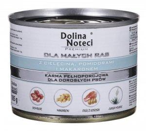 Karma DOLINA NOTECI Premium Cielęcina Pomidory Makaron (0,18 kg )