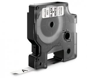 Taśma barwiąca DYMO D1 9mmx7m czarny/biały S0720680 (9 mm )