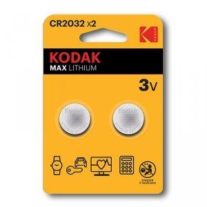 KODAK BATERIE LITOWE KCR2032 X 2SZT