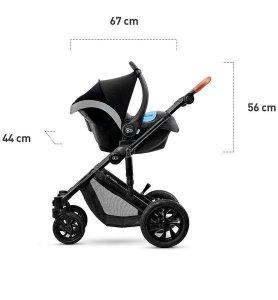 Kinderkraft Wózek spacerowy PRIME 2020 beige + bag