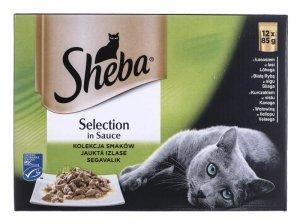 Sheba Sel in Sauce Mix Smaków 12x85g