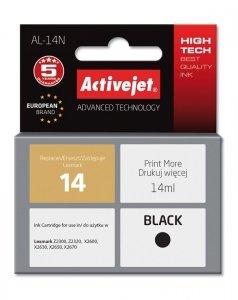 Tusz Activejet AL-14N (zamiennik Lexmark 14 18C2090E; Supreme; 14 ml; czarny)